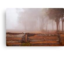 Frankland Fog Canvas Print