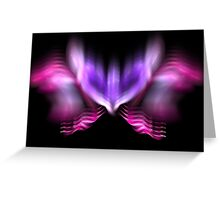 Lilac Firefly Greeting Card