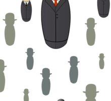 Magritte pattern Sticker