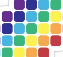 Rainbow Staircase Sticker
