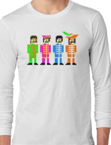 Sgt. Pixel's Lonely Hearts Club Band Long Sleeve T-Shirt