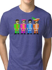 Sgt. Pixel's Lonely Hearts Club Band Tri-blend T-Shirt