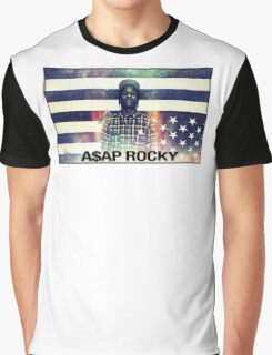 A$AP ROCKY MULTICOLOR Graphic T-Shirt