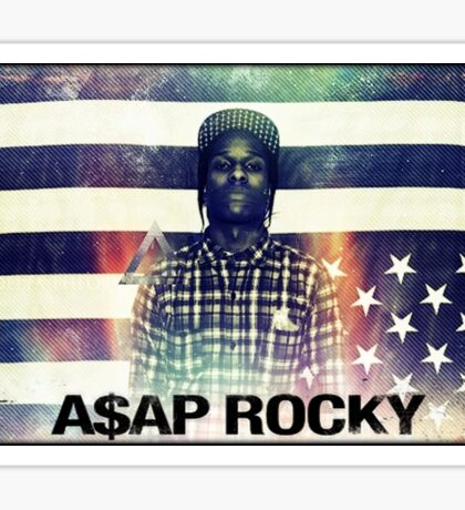 A$AP ROCKY MULTICOLOR Sticker
