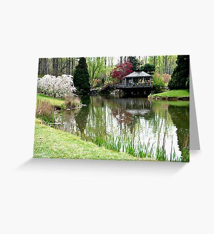 Brookside Gardens Greeting Card