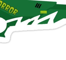 Fun Ghoul's Raygun Sticker