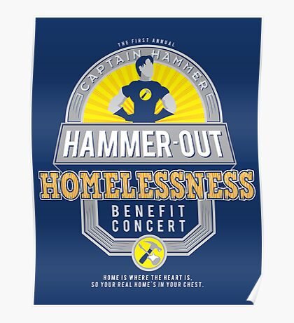 Hammer-Out Homelessness Poster