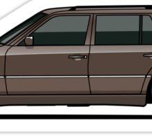 Mercedes Benz W124 300TE Wagon (Anthracite Grey) Sticker