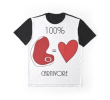 Meat Lovers. Graphic T-Shirt