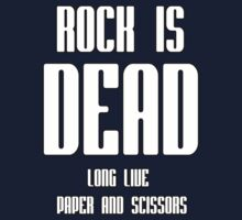 Rock Is Dead Kids Clothes