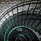 Currituck Stairs by Robin Lee