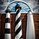 Lighthouses of North Carolina by Robin Lee