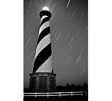 Hatteras Lighthouse (b&w) Photographic Print
