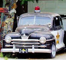 Vintage Police Car by Cynthia48