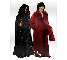 Doctor Who - Fourth Doctor and The Master Poster