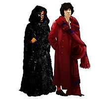 Doctor Who - Fourth Doctor and The Master Photographic Print