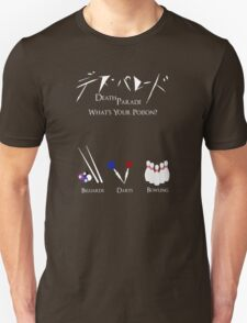 Death Parede - What's Your Poison? T-Shirt