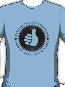 Official Perkler Champion - Black T-Shirt