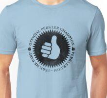 Official Perkler Champion - Black Unisex T-Shirt