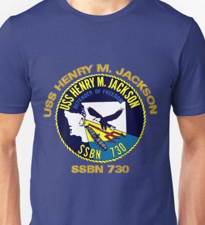 USS Henry M. Jackson Crest for Dark Colors Unisex T-Shirt