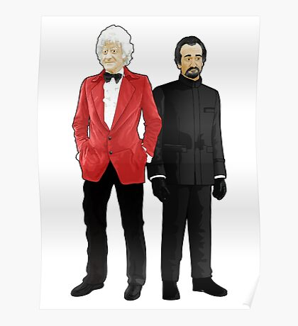 Doctor Who - Third Doctor and The Master Poster