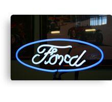 Ford mania Canvas Print