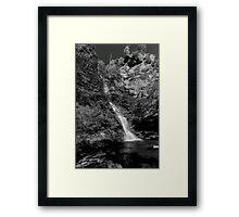 Minnehaha Falls - Katoomba NSW Framed Print
