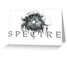 the 24th James Bond movie, SPECTRE, Greeting Card