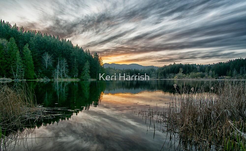Sunset at Cusheon Lake by Keri Harrish