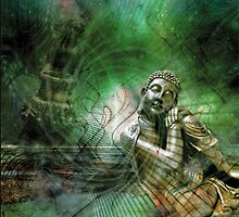 Dreaming Buddha by Tatjana Blank