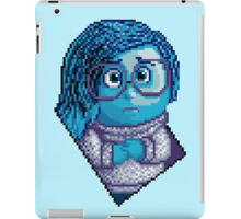 Sadness - pixel art iPad Case/Skin