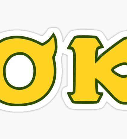 Monsters U: Oozma Kappa Sticker