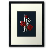 Thorny Embrace Framed Print