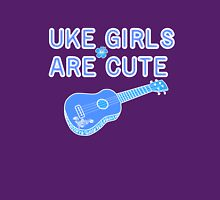 Uke Girls Are Cute Women's Fitted Scoop T-Shirt