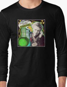 Popular Science: M. Curie (Polish) Long Sleeve T-Shirt