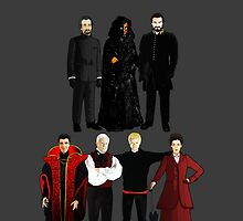 Doctor Who - The Seven Masters by Chris Singley