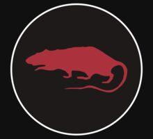 red rat roundel Kids Tee