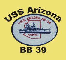 USS Arizona (BB-39) Crest Baby Tee