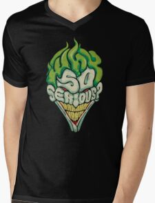 Why So Serious? - Joker Mens V-Neck T-Shirt