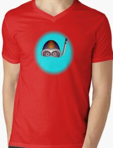 Diver by rafi talby Mens V-Neck T-Shirt
