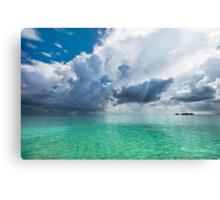 Get Lost. Maldivian Scenery Canvas Print