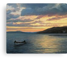 After Fishing Canvas Print