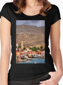 The Village Women's Fitted Scoop T-Shirt