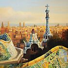 Barcelona Park Guell by kirilart