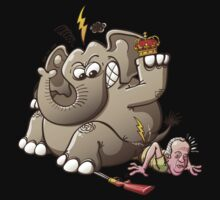 Spain's King Breaks Hip While Elephant Hunting One Piece - Long Sleeve
