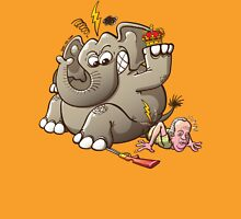 Spain's King Breaks Hip While Elephant Hunting Unisex T-Shirt