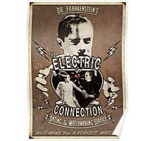 The Electric Connection (Old Postcard ) Poster