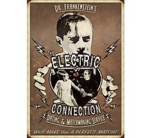 The Electric Connection (Old Postcard ) Photographic Print