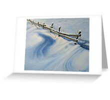 Ice Glitter Greeting Card