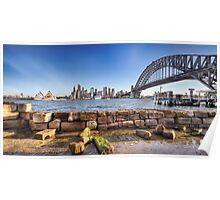 Sydney harbour views Poster